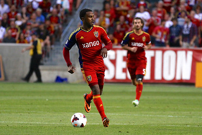 Real Salt Lake vs Portland Timbers • Open Cup 8-7-2013. RSL defeats Portland 2-1. Robbie Findley (10)