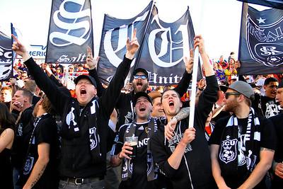 Real Salt Lake vs Seattle Sounders FC  3-30-2013.