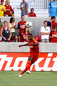 Real Salt Lake vs Sporting KC 7-20-2013. RSL loses to Sporting KC 1 -2. Aaron Maund (4)