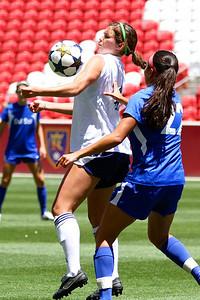 Real Salt Lake Women vs Phoenix Del Sol 6-8-2013.