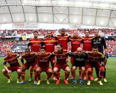 Real Salt Lake vs Colorado Rapids at Rio TInto Stadium 05-17-2014. RSL defeats Colorado 2-1