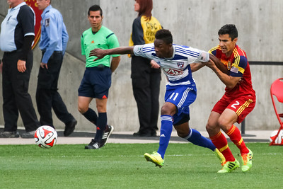 Real Salt Lake vs FC Dallas 05-24-2014 at Rio Tinto Stadium. RSL ties Dallas 0 - 0.