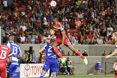 Real Salt Lake vs FC Dallas at Rio Tinto Stadium 09-05-2014. RSL defeats FC Dallas 2-1.