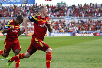 Real Salt Lake vs Portland Timbers at Rio TInto Stadium 06-07-2014. RSL loses to Portland 1-3.