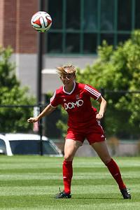 Real Salt Lake Women vs Northbay FC Wave at America First Field 06-22-2014. RSL Women win 2-1.