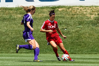 Real Salt Lake Women vs Northbay FC Wave at America First Field 06-22-2014. RSL Women win 2-1.