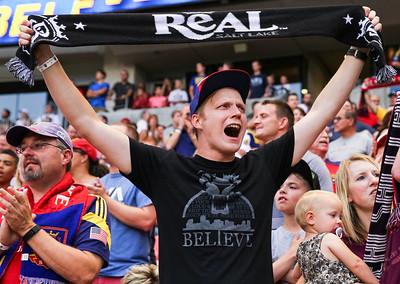 Real Salt Lake vs Orlando City SC on 7-04-2015 at Rio Tinto Stadium. RSL draws Orlando 1-1. ©2015  Bryan Byerly  #rsl, #RSLvORL