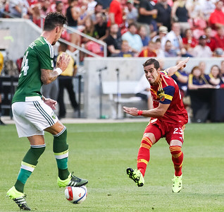 Real Salt Lake vs Portland Timbers on 7-01-2015 at Rio Tinto Stadium in the Lamar Hunt Open Cup. RSL defeats the Timbers 2-0. ©2015  Bryan Byerly