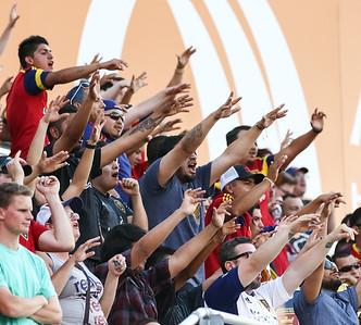 Real Salt Lake vs Sporting Kansas City on 6-21-2015 at Rio Tinto Stadium. RSL defeats Sporting KC 2-1. ©2015  Bryan Byerly
