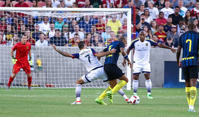 Real Salt Lake versus Inter Milan at Rio Tinto Stadium on 07-19-2016. RSL loses to Inter Milan 1-2. #asone  #believe  #RSL  ©2016 Bryan Byerly