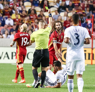 Real Salt Lake versus Los Angeles Galaxy at Rio Tinto Stadium on 09-07-2016. RSL draws with the Galaxy 3-3. #asone  #believe  #RSL  ©2016 Bryan Byerly