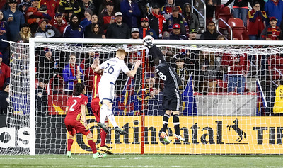 Real Salt Lake versus Vancouver Whitecaps at Rio Tinto Stadium on 04-16-2016. RSL defeats the Whitecaps 1-0. #asone  #believe  ™2016 Bryan Byerly