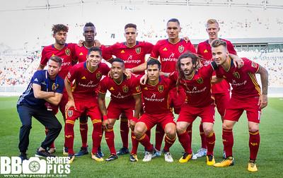 Real Salt Lake vs Columbus Crew at Rio Tinto Stadium 07-29-2017. RSL draws with the Crew 2-2. #RSL #RSLvCLB #ASONE #BELIEVE   ©2017 Bryan Byerly