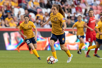 Utah Royals FC vs Portland Thorns at Rio Tinto Stadium in Sandy, UT. 04-28-2018. Royals and Thorns draw the match 1-1. ©2018 Bryan Byerly