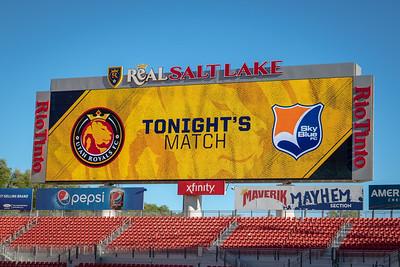 Utah Royals FC vs Sky Blue FC at Rio Tinto Stadium in Sandy, UT. 06-30-2018. Royals defeat Sky Blue FC 3-1. ©2018 Bryan Byerly