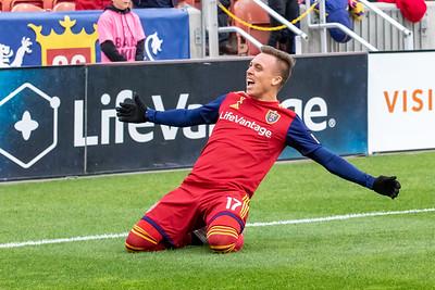Salt Lake City, UT - Sunday September 29, 2019: Major League Soccer. Real Salt Lake vs Houston Dynamo. ©2019 Bryan Byerly