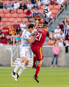 Sandy, UT - Tuesday June 11, 2019: LAMAR HUNT U.S. OPEN CUP. Real Salt Lake vs LAFC at Rio Tinto Stadium. ©2019 Bryan Byerly