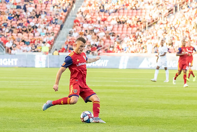 Sandy, UT - Saturday July 20, 2019: Real Salt Lake vs Minnesota United at Rio Tinto Stadium. ©2019 Bryan Byerly