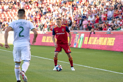 Sandy, UT - Saturday May 04, 2019: Real Salt Lake vs Portland Timbers at Rio Tinto Stadium. ©2019 Bryan Byerly