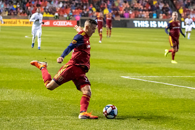 Sandy, UT - Saturday October 19, 2019: MLS. Real Salt Lake vs Portland Timbers at Rio Tinto Stadium. ©2019 Bryan Byerly