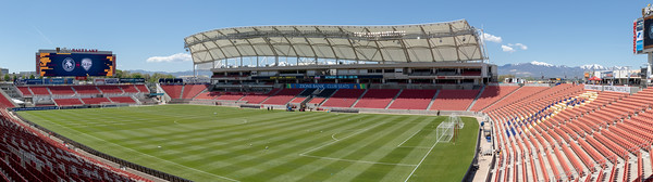 Sandy, UT - Saturday May 11, 2019: Utah Royals FC vs Houston Dash at Rio Tinto Stadium. ©2019 Bryan Byerly