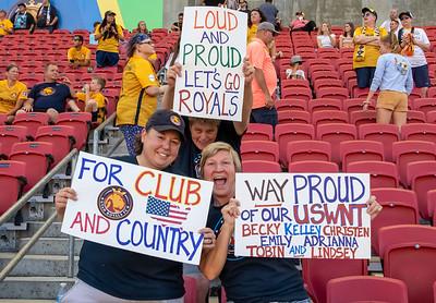 Sandy, UT - Friday July 19, 2019: Utah Royals FC vs Portland Thorns at Rio Tinto Stadium. ©2019 Bryan Byerly