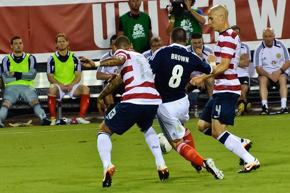 USA vs Scotland game