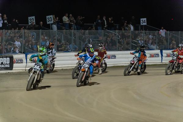 Daytona Flat Track Motorcycle racing