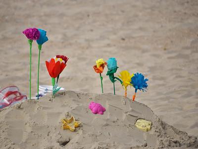 Fleurs de papier à troquer - Westende