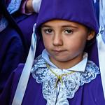 La Procesion de Los Salzillos in Murcia, Spain on Good Friday during Semana Santa (Easter).