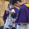 La Procesion de Los Salzillos in Murcia, Spain on Good Friday during Semana Santa (Easter).