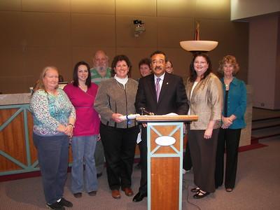 Proclamation at City Hall