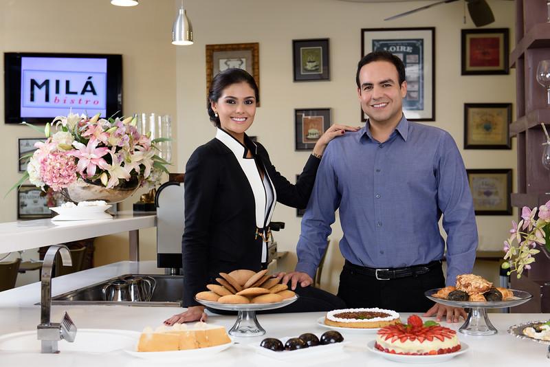 Fabiana & José en Milá Bistro