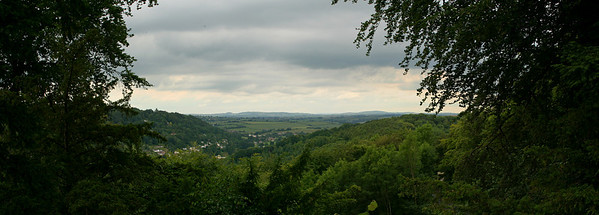 Another view of river Wye from Simonds Yat Rock