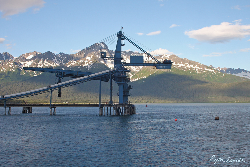 Coal Loadout.  Seward, Alaska