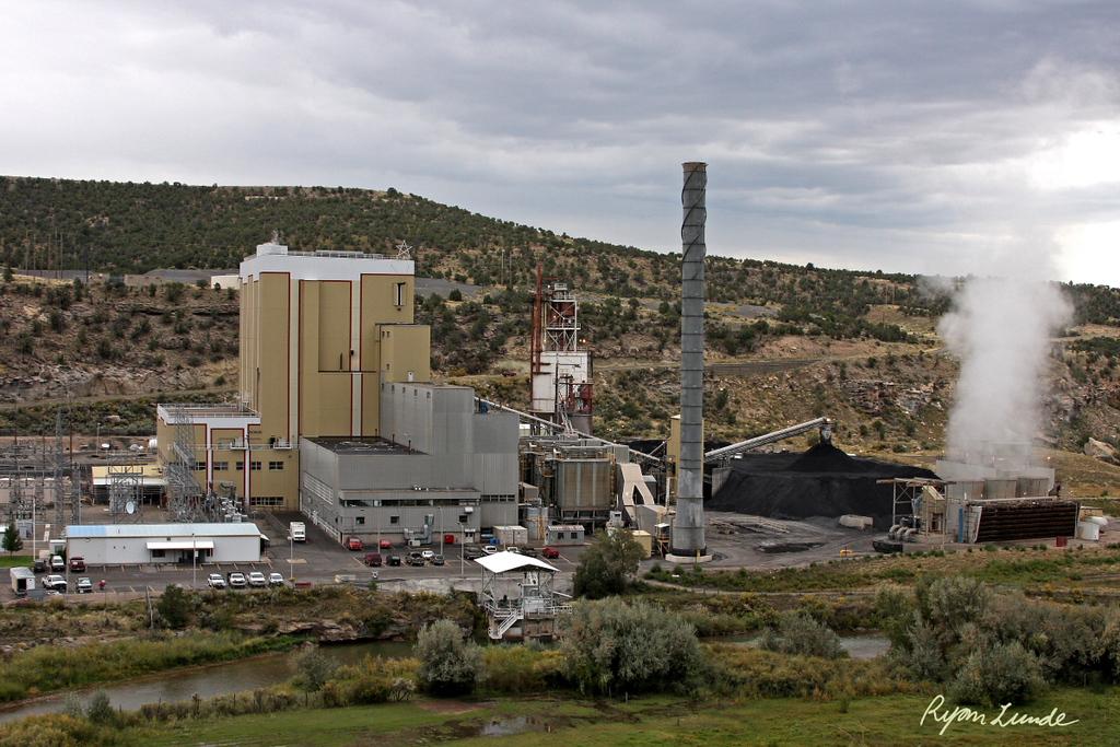 Nucla Generation Station.  Nucla, Colorado