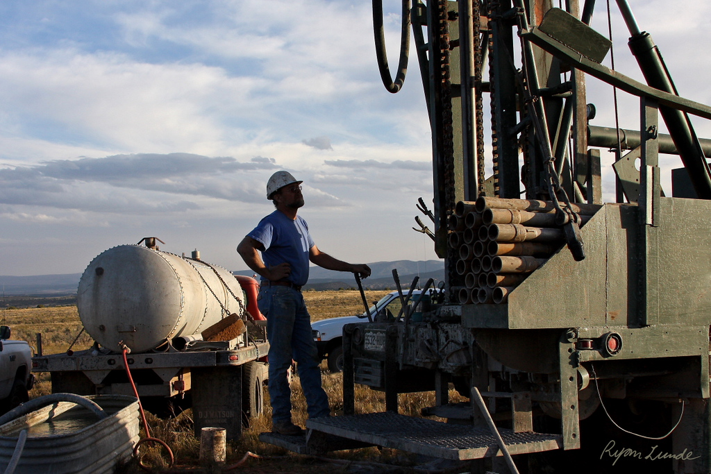 Exploration Drilling.  Montrose County, Colorado
