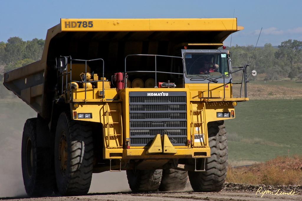 Komatsu Haul Truck.  Nucla, Colorado