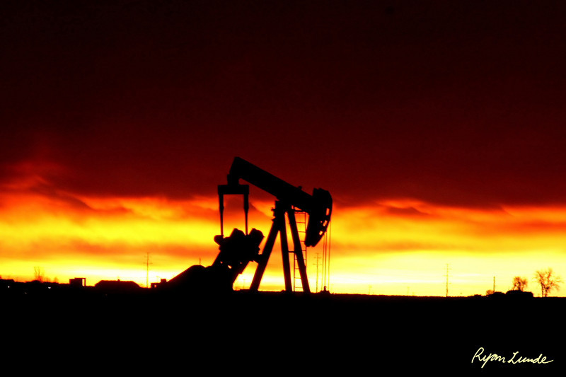 Oil Well.  Weld County, Colorado