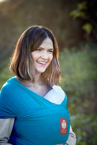Wrap Baby Carrier (Teal)