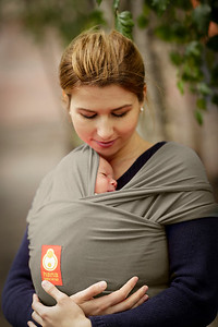 Wrap Baby Carrier (Olive)
