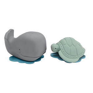 Rubber Whale and Turtle