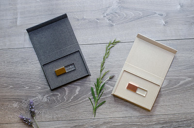 Linen and Crystal USB