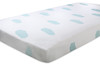 "aden + anais - Organic Muslin Fitted Cot Sheet<br /> Style: ""Sky Blue""<br /> Dimensions: Large - 135cm x 77cm x 19cm - Double Layer<br /> Pre-washed. Fit standard and large sized Boori cots.<br /> SRP INC GST - $69.00"