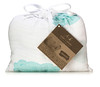 "aden + anais - Organic Muslin Wrap Bag<br /> Style: ""Sky Blue""<br /> The Sky Blue wrap comes packaged in a bag<br /> made in the same fabric as the wrap."