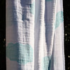 "aden + anais - Organic Muslin Wrap Fabric Design<br /> Style: ""Sky Blue""<br /> Swatch Size: 27cm x 27cm<br /> See picture of Sky Blue wrap for price and size information"