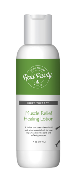 Muscle Relief Healing Lotion