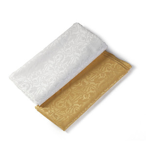 table napkins poly cotton damask