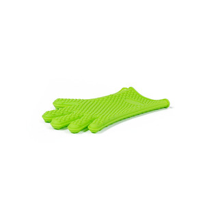 glove with fingers silicone