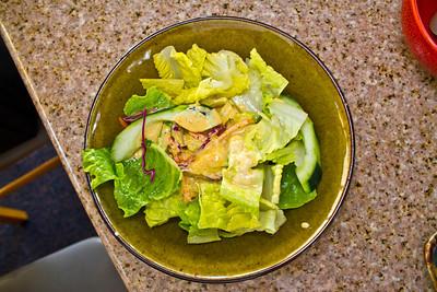 Caesar Salad. Sapporo Sushi & Steakhouse - Fisherman's Wharf - Monterey, CA, USA